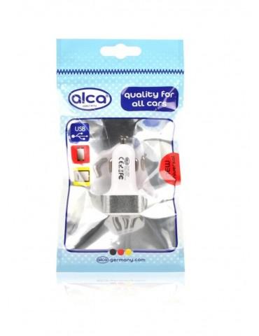 USB ΛΕΥΚΟ ALCA 3 ΘΕΣΕΩΝ 12/24V