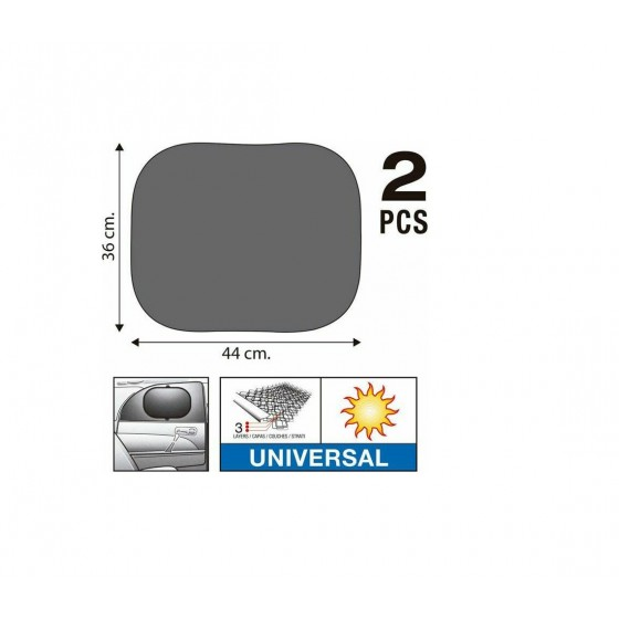 ΗΛΙΟΠΡΟΣΤΑΣΙΑ ΤΕΤΡΑΓΩΝΗ SUPER UV PROTECTION 2ΤΜΧ 44X36CM AUTO GS (13317)