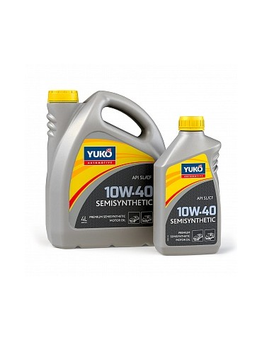 10W-40 ENGINE OIL SEMISYNTHETIC YUKO 5L