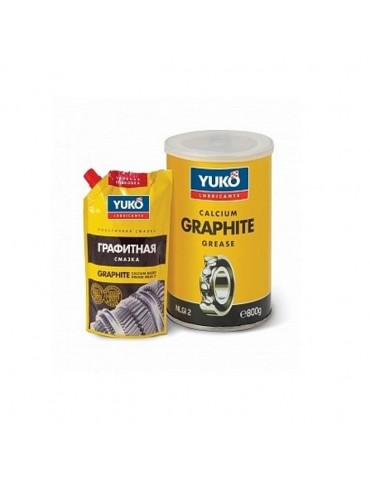 ΓΡΑΣΣΟ ΓΡΑΦΙΤΗ NLGI 2 MULTIPURPOSE GREASE GRAPHITE YUKO 1L (800gr)