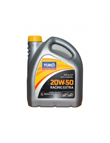 20W-50  ENGINE OIL RACING EXTRA YUKO 4L